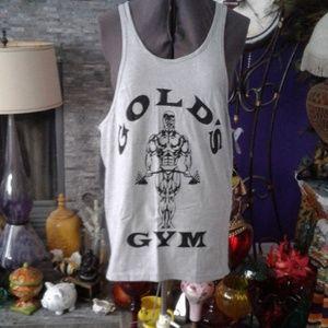 Gold's gym tank